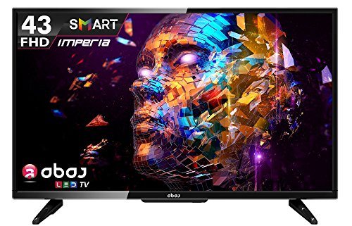 ABAJ Imperia LN 109 SMT 109cms (43″) Full HD Smart LED TV (Black)