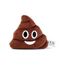 Idea Regalo - Mini Emoji cuscino emoticon pupù, Emoji, Souvenir, regalo