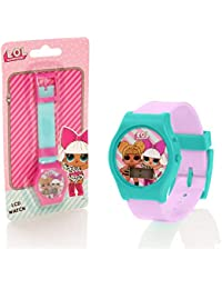 LOL Surprise Girls Digital LCD Wrist Watch - 2 Assorted Colours (Picked At Random)