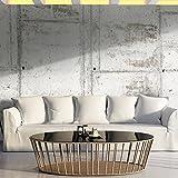 murando - Fototapete selbstklebend 490x280 cm - decor Tapeten - Wandtapete klebend - Klebefolie - Dekofolie - Tapetenfolie - Beton Textur f-A-0458-a-a