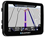 Blaupunkt TravelPilot 72 Truck EU - Navigationssystem 17,5 cm (7 Zoll) Touchscreen-Farbdisplay, Kartenmaterial Gesamteuropa, mit Bluetooth Freisprecheinrichtung und LKW-/Truck-Funktionen, schwarz