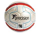 PRECISION Ballon de football Match Santiago FIFA Inspected, Blanc/Orange, 4