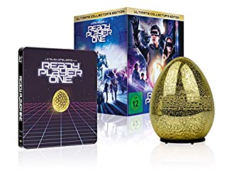 Ready Player One Ultimate Collector's Edition (Steelbook + leuchtendes Easter Egg aus Glas) (exklusiv bei Amazon.de) [Limited C