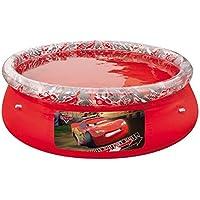 Bestway Disney Cars Fast Set Above Ground Pool - Red