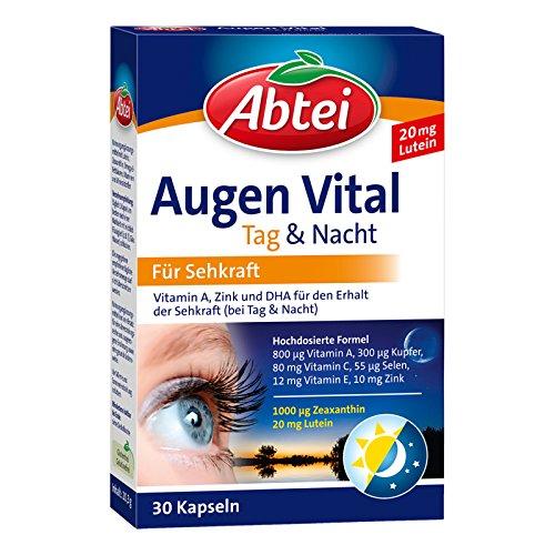 Abtei Augen Vital Tag & Nacht, 30 St. Kapseln
