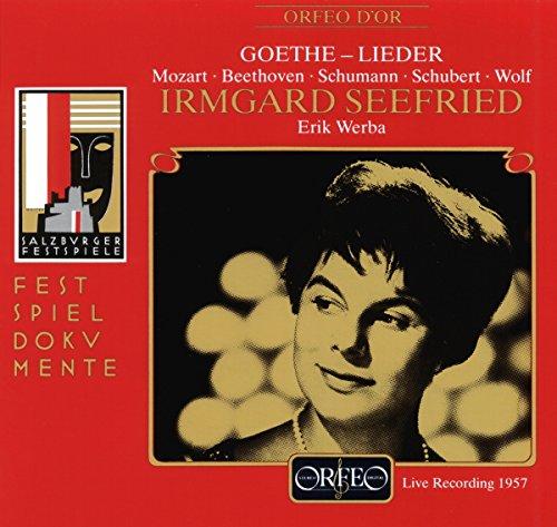 Récital de lieder - Irmgard Seefried, soprano