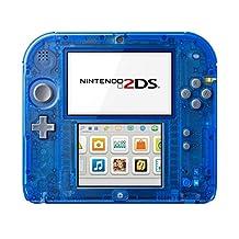 Console Nintendo 2Ds Bleu Transparent