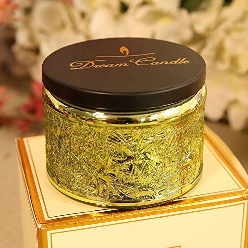 JJALZ Aceite Esencial con Aroma a Vela Vela perfumada Caja de Regalo Vela sin Humo Vela de Incienso...