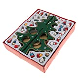 Sharplace Handgemacht Drehbar Weihnachtsbaum Spieluhr Spieldose Musikbox aus Holz - Dekoration für Wohnzimmer, Haus, Weihnachten Party Christbaumschmuck - Grün