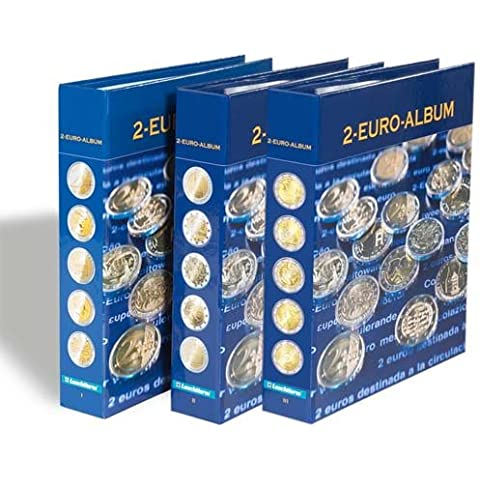 NUMIS Álbum para monedas conmemorativas de 2 euros Part. 1 - 3