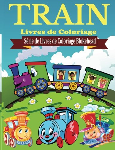 Train Livres de Coloriage par le Blokehead