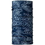Buff National Geographic - Pañuelo multifuncional tubular, unisex, color azul (afgan blue), talla única