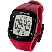 Sigma Sport iD.Run HR - GPS Rouge
