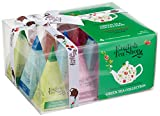 Teegeschenk mit Schleife 'Grüner Tee Kollektion', 12 Pyramiden-Beutel