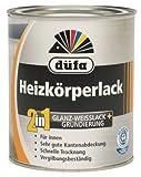 Düfa 2in1 Spezial Glanz Heizkörperlack Acryllack Lack Weiß Glänzend 2,5 Liter