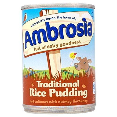 Ambroisie Pouding Au Riz Traditionnel Avec Des Raisins Secs Et Noix De Muscade (425G)