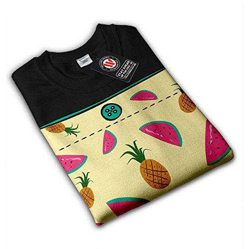 Aliments Blague Drôle Citation Femme S-2XL Sweat-shirt | Wellcoda Noir