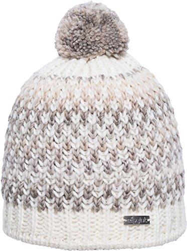 Eisglut Damen Bailey Mütze, Weiß, one size - Alpaka Knit Hat