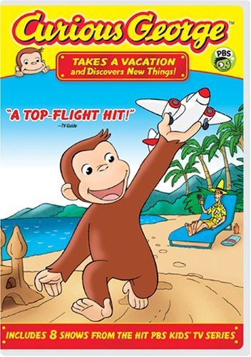Curious George - Takes a Vacation & Discovers New Things by Jeff Bennett (George-dvd Curious)