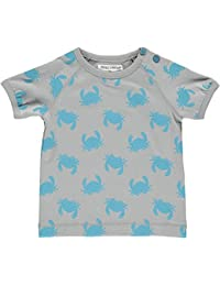 Phister & Philina Baby Boys' Elijah Beach Organic T-Shirt