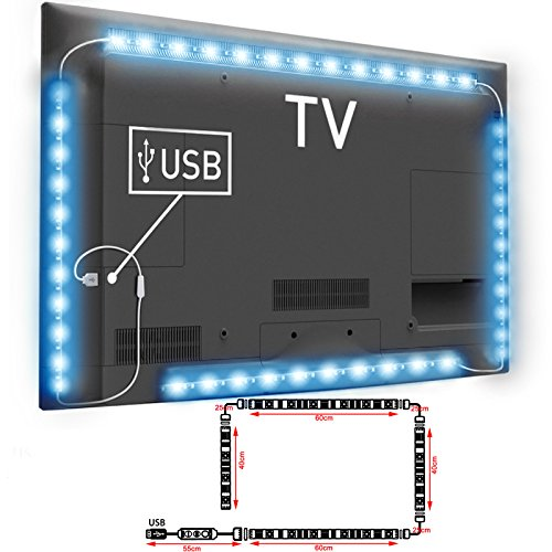 TOP-MAX LED Tira de luz de TV de la del monitor de...