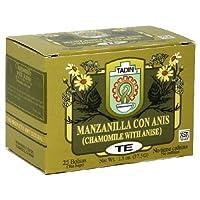 Tadin, Tea Manznla Anis, 24 BG (Pack of 6)