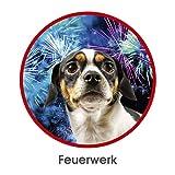 RelaxoPet Entspannungsgerät | Hund und Katze; Version 2.0 | Beruhigung durch Klangwellen | Ideal bei Gewitter, Feuerwerk oder auf Reisen | Hörbar und unhörbar | 5V, kabellos - 6