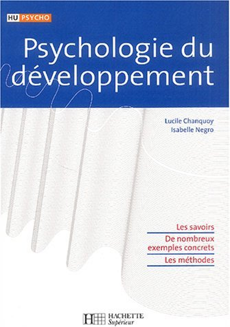 Psychologie du dveloppement by Lucile Chanquoy (2004-08-11)
