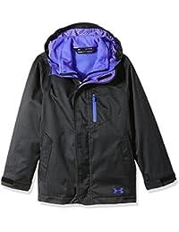 Under Armour ColdGear Infrared Gemma 3-in-1-Jacke für Mädchen, Mädchen, schwarz