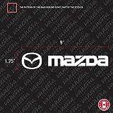 SUPERSTICKI Mazda CX-3 Auto Aufkleber Tuning Fun Lustig ca 20cm Autoaufkleber Hochleistungsfolie für alle glatten Flächen UV und Waschanlagenfest Tuning Profi Qualität