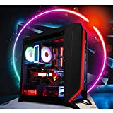GameMachines Omega - Gaming PC - Intel Core i7 8700K - NVIDIA GeForce GTX 1080 - ASUS ROG STRIX GAMING Mainboard - RGB éclairage - 250 Go SSD Samsung - 2 To HDD - 16 Go DDR4 - WiFi - Windows 10 Pro …