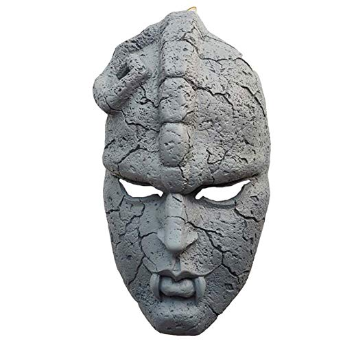 Stone Ghost Mask Geeignet für Maskeradenpartys, Kostümpartys, Karneval, Weihnachten, Ostern, Halloween, Bühnenauftritte, Basteldekoration