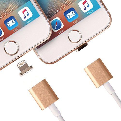 Metal Technologies Global (Solide Magnetic Kabel Lightning Netzteil Ladekabel 8-PIN Lightning für iPhone 5 5S SE)