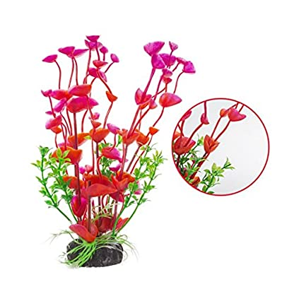 PANYTOW Aquarium Plastic Plants Fish Tank Imitation Sea Urchin Water Aquatic Grass Artificial Plants Decoration for… 3
