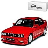 BMW 3er E30 M3 Coupe Rot 1982-1994 Nr 695 1/18 Otto Mobile Modell Auto mit individiuellem Wunschkennzeichen