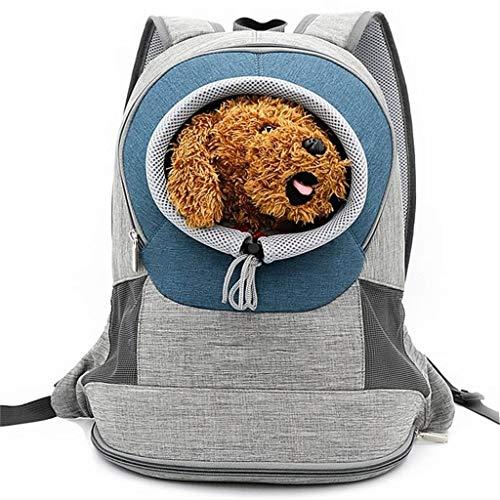1cd41f57c1 WWJHH-Pet bag Zaino per Animali Domestici Tasca Frontale con Design  Traspirante E Doppia Rete