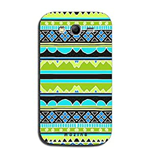 Mozine Green Tribal Pattern printed mobile back cover for Samsung galaxy gra...