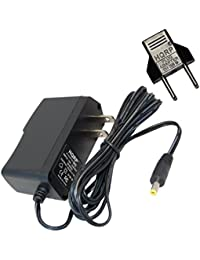 HQRP Cargador adaptador de CA para Omron M3W/HEM-7202-(V) y de medida de la…