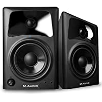 M-Audio AV42 | Compact Active Desktop Reference Speakers (Pair) for Superior Sound, Perfect for Professional Media Creation and an Immersive Gaming Experience