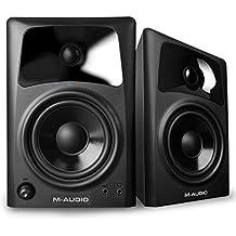 M-Audio AV42 - Altavoces monitores de escritorio estudio activos, para reproducción multimedia con audio de calidad y referencia para la creación audiovisual