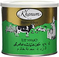 Khanum Pure Butter Ghee 500 g (Pack of 6)