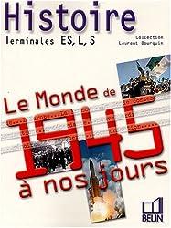Histoire Tle Es, L, S