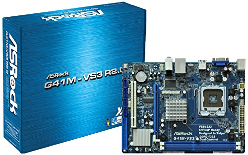 ASRock G41M-Vs3 R2.0 - Placa base (S775 Intel G41+ ICH7 LAN/VGA DDR3)