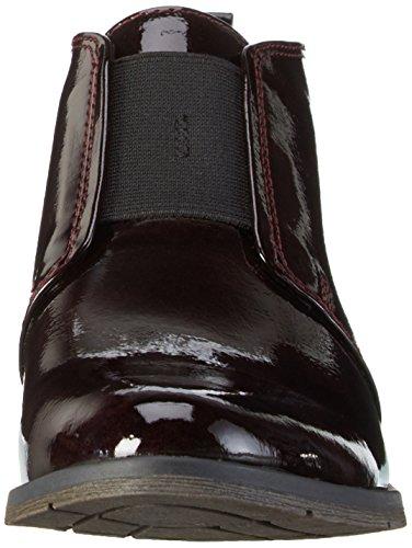 Marco Tozzi - 25303, Stivali bassi con imbottitura leggera Donna Rosso (Rot (MERLOT 537))