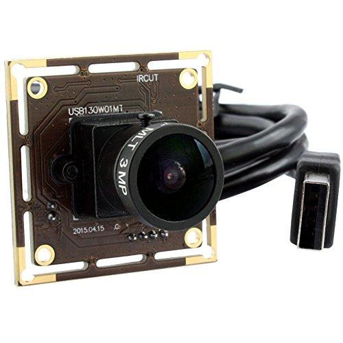 ELP 960P 1,3Megapixel Fisheye Weitwinkel 170Grad MJPEG USB 2.0Kamera für Industrie Android Linux Windows Kamera System -