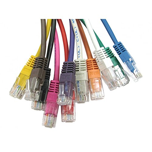 bluecharge auf RJ45Ethernet-Netzwerk-Kabel CAT zu 100%, vollständige Kupfer LAN UTP Patch 4m weiß (Fc-kupfer-kabel)