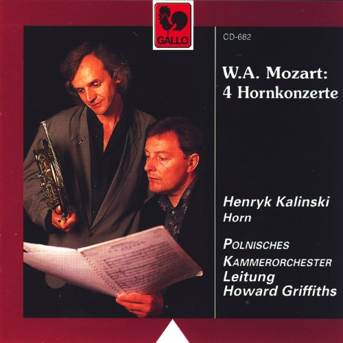 Wolfgang Amadeus Mozart: 4 Hor...
