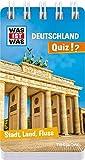 WAS IST WAS Quiz Deutschland: Über 100 Fragen und Antworten! Mit Spielanleitung und Punktewertung (WAS IST WAS Quizblöcke) -