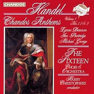 Handel: Chandos Anthems Nos 1-3