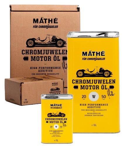 Mathé, Chromjuwelen, olio per motore, 20W-50